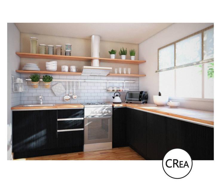 PROYECTO:  de estilo  por CRea - Arquitectura + Diseño,