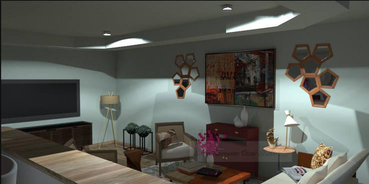 classic Living room by SilviaKarounos Decor Studio