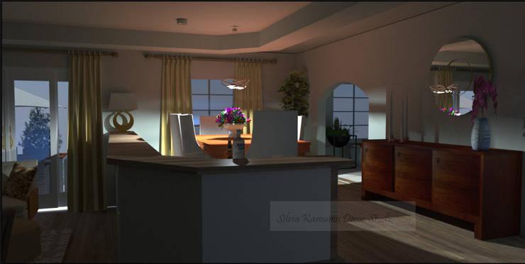 classic Dining room by SilviaKarounos Decor Studio