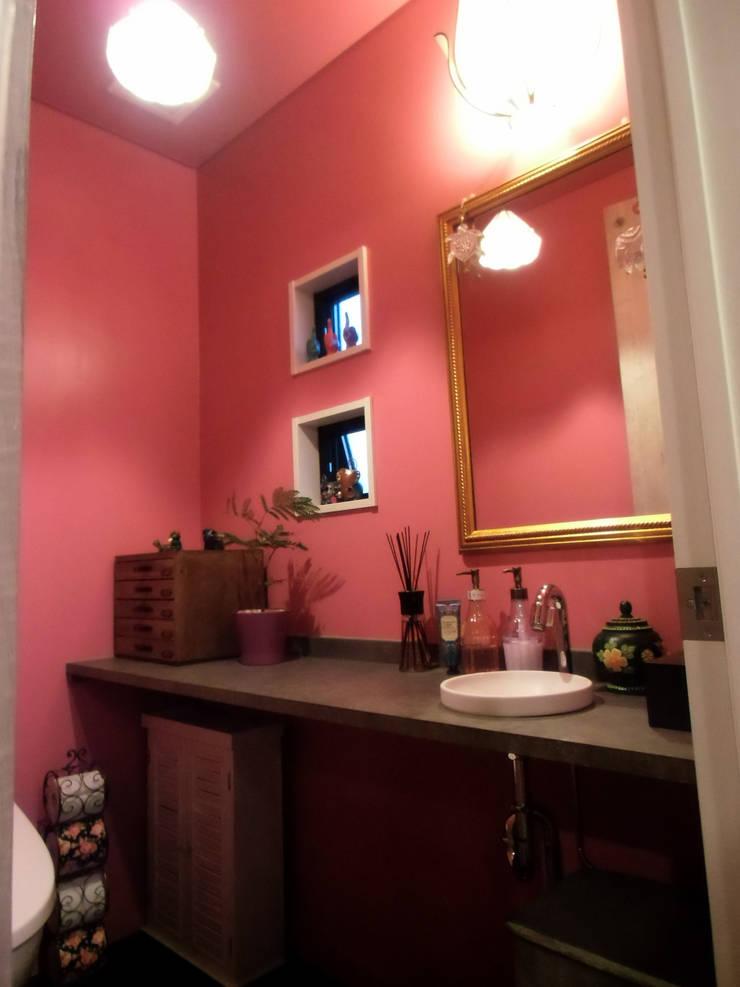 化粧室: 株式会社アトリエKCが手掛けたオフィススペース&店です。