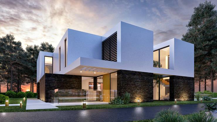 Casas de estilo  por Traçado Regulador. Lda