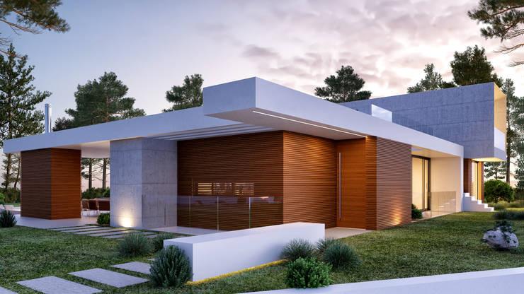 CASA MP1: Casas  por Traçado Regulador. Lda
