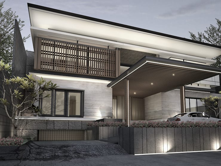 House at Gegerkalong, Bandung, Indonesia:  Rumah tinggal  by Studio Avana
