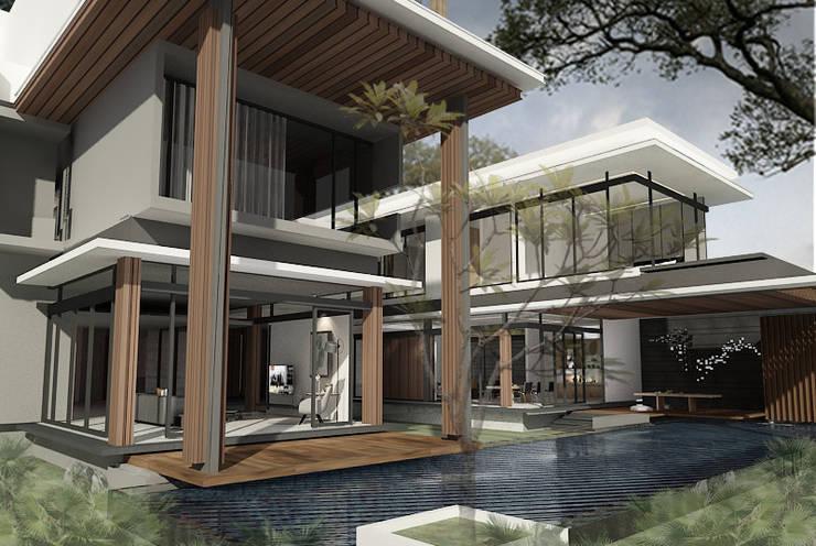 House at Gegerkalong, Bandung, Indonesia:  Rumah by Studio Avana