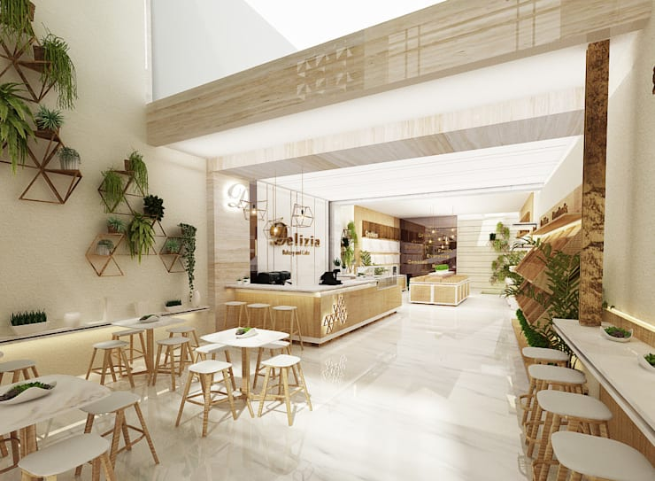 Delizia Bakery & Cafe, Pekalongan, Indonesia:  Restoran by Studio Avana
