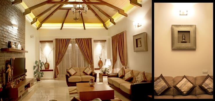 Living room:  Living room by Myriadhues,Classic