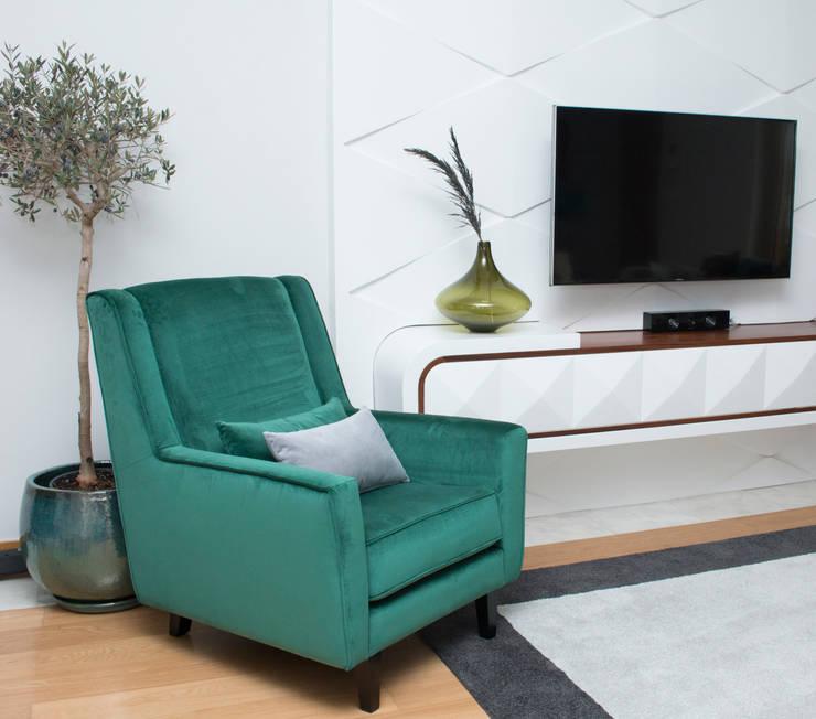 Projecto: Salas de estar  por ORCHIDS LOFT