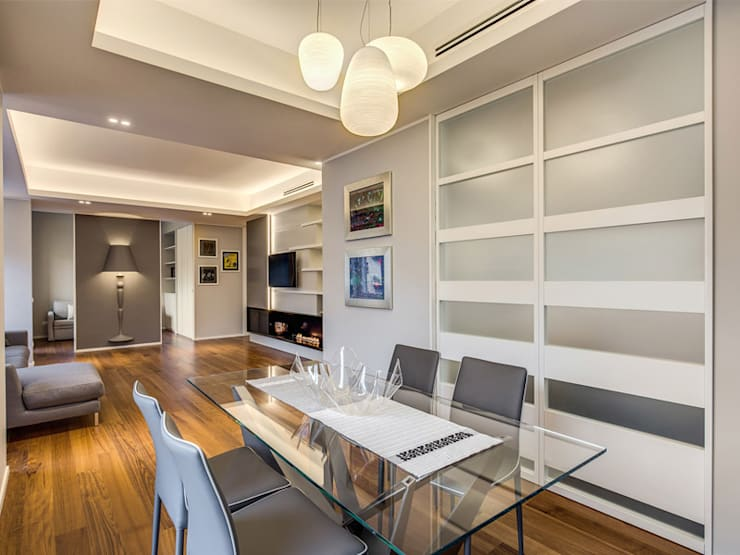 Modern dining room by MOB ARCHITECTS Modern