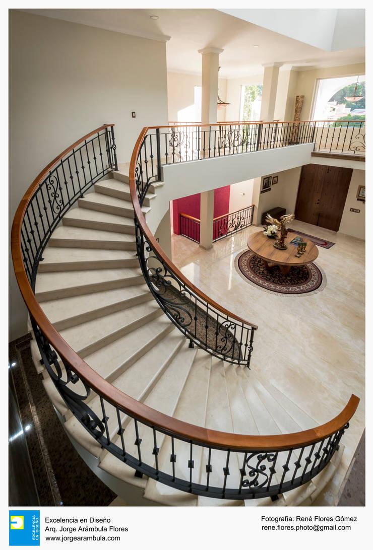 Stairs by Excelencia en Diseño