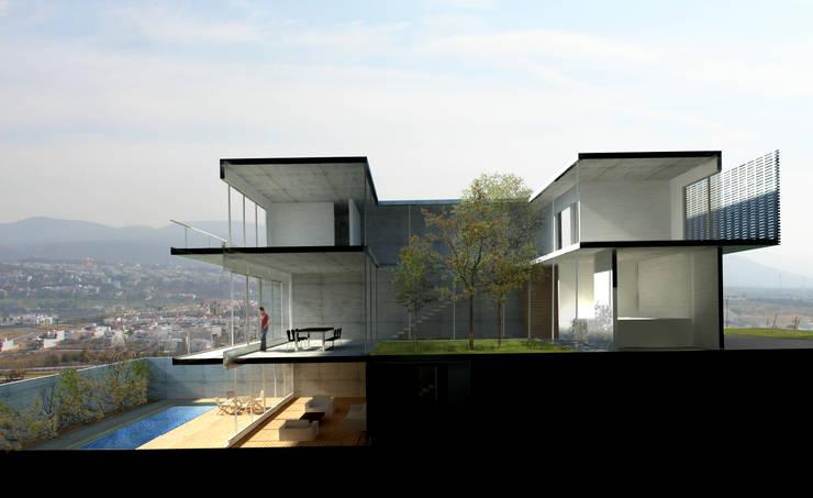 von AWA arquitectos Modern Ziegel
