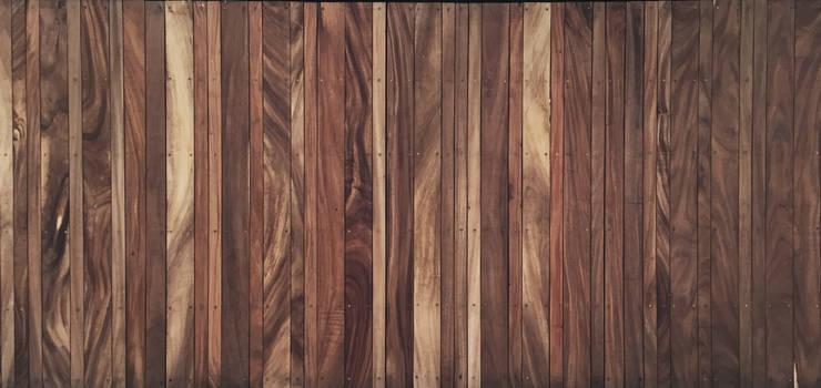Moderne Häuser von AWA arquitectos Modern Holz Holznachbildung