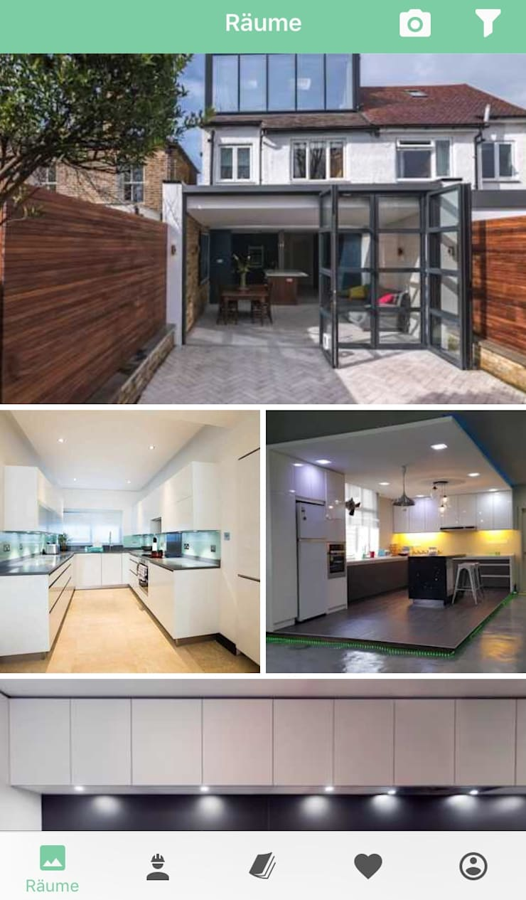 modern Houses by press profile homify
