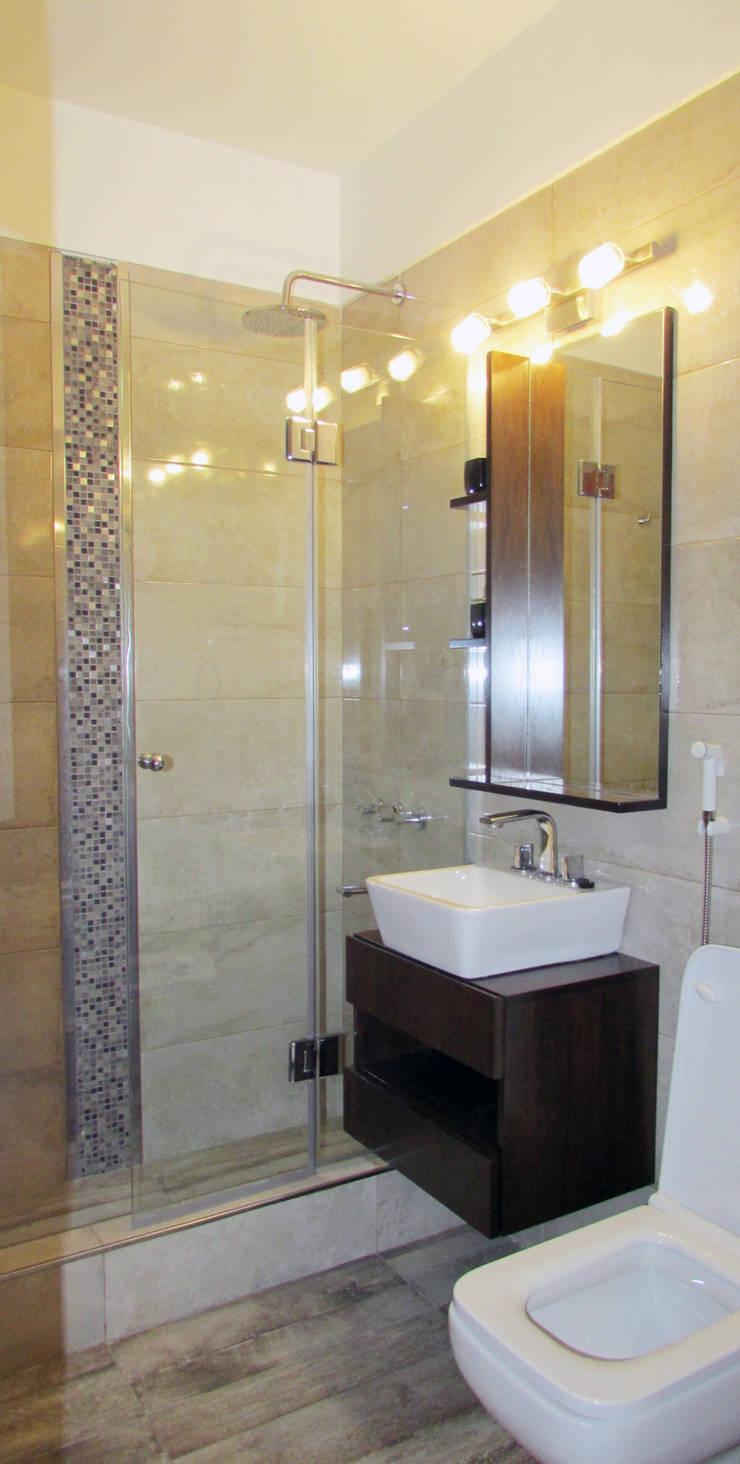 Remodelación baño principal : Baños de estilo  por G7 Grupo Creativo