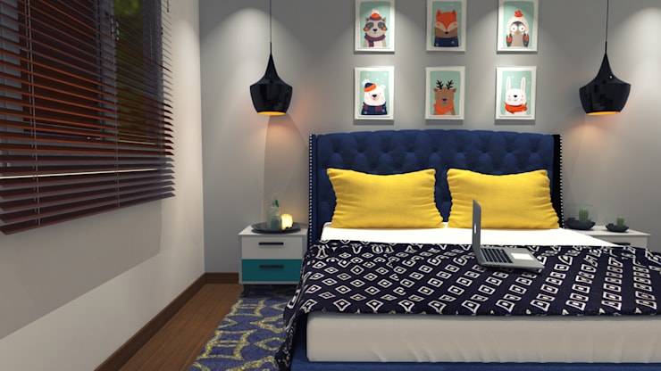Cuartos de estilo  por Decoratespace,