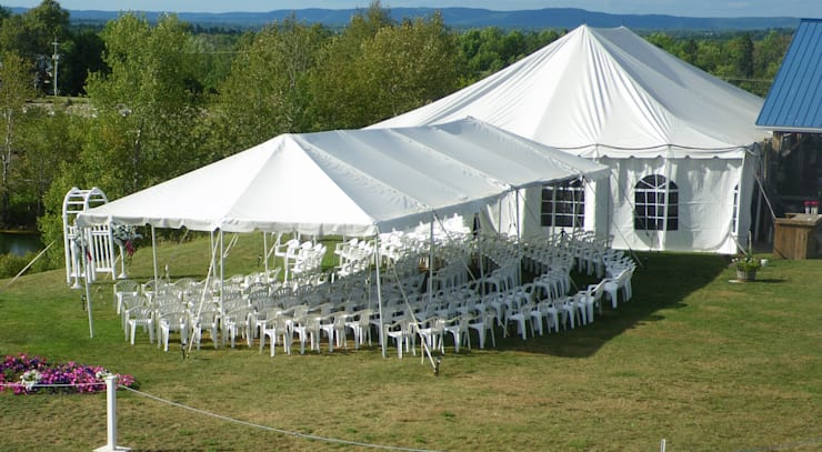 Stylish Wedding Tents:   by Tent Hire Pretoria