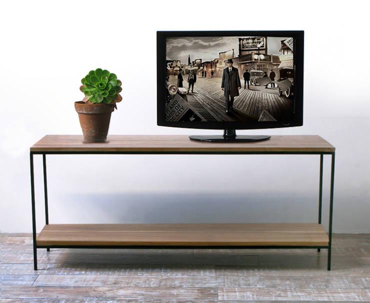 Aparador para TV Tienda Quadrat : Livings de estilo  por Tienda Quadrat