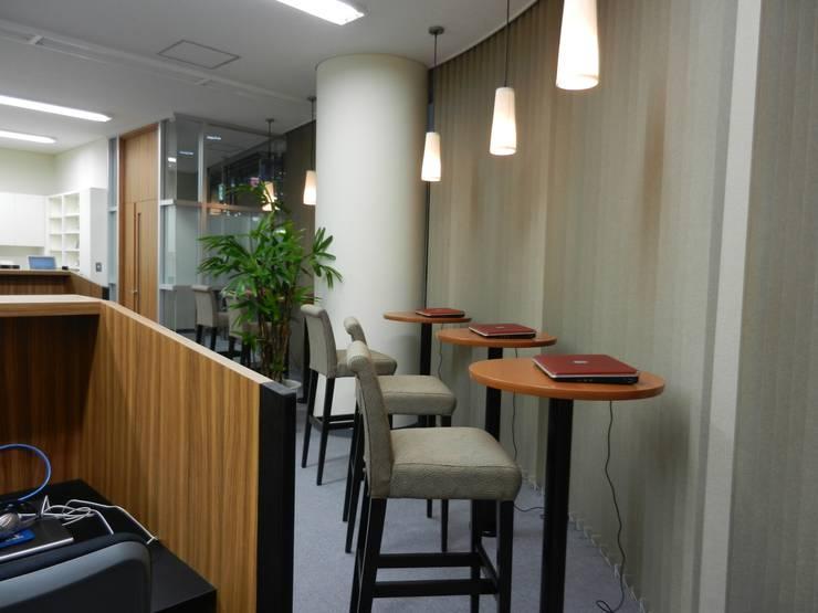 アメニティースペース: 株式会社アトリエKCが手掛けたオフィススペース&店です。,