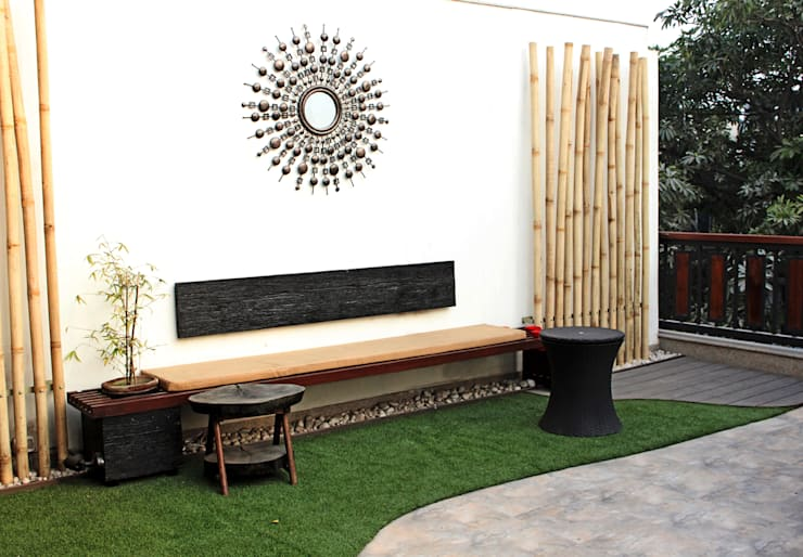 Roof garden :  Roof by Grecor