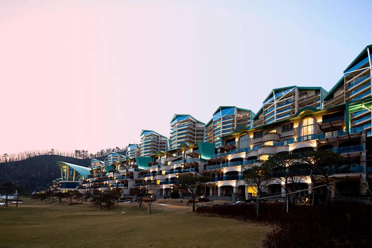 대명 소노펠리체: D.P.J & Partners의  호텔,모던