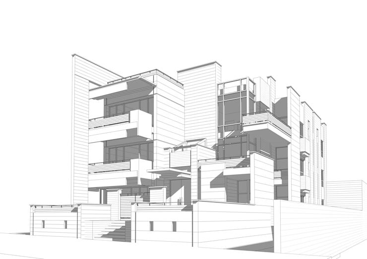 Houses by SPACES Architects Planners Engineers