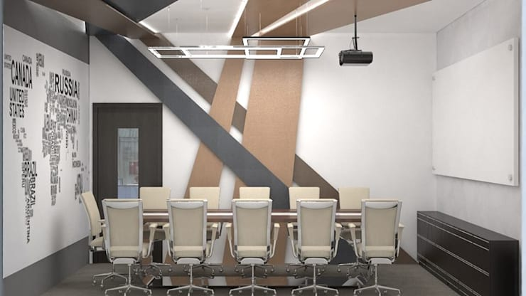 Meeting Room :   by RID INTERIORS