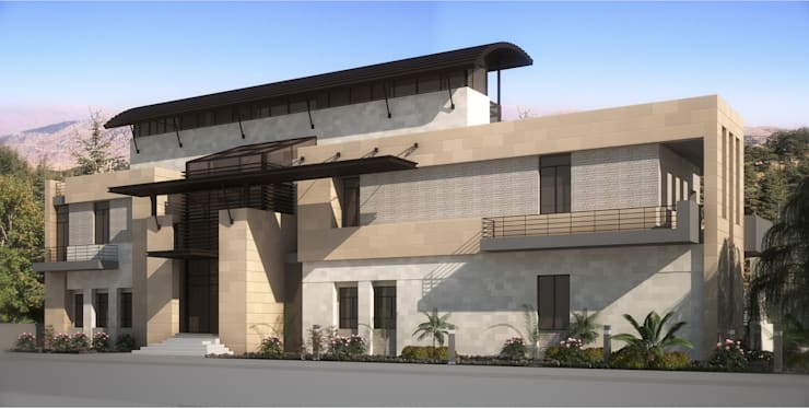 Villas by SPACES Architects Planners Engineers