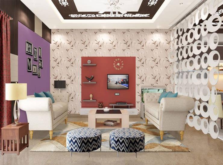 Residential Project (Vikaspuri Delhi):   by RID INTERIORS