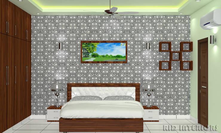 MASTER BEDROOM:   by RID INTERIORS