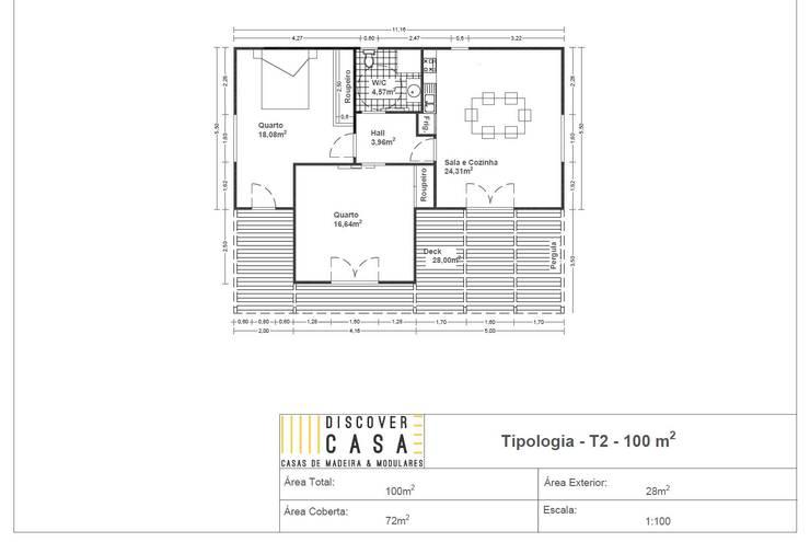 by Discovercasa | Casas de Madeira & Modulares