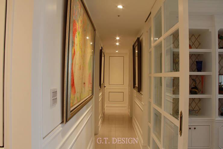 Corridor & hallway by G.T. DESIGN 大楨室內裝修有限公司