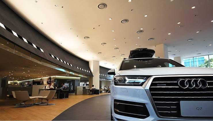 Audi - 內湖:  汽車交易商 by G.T. DESIGN 大楨室內裝修有限公司