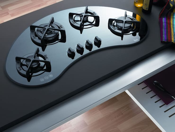 Bếp Gas:  Multimedia room by TEKA - Cook with Love