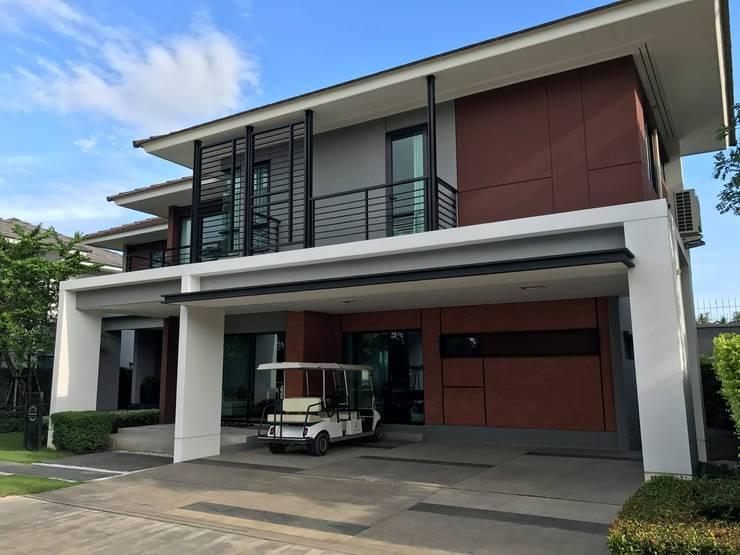 บ้านตัวอย่างโครงการ เศรษฐสิริ ปิ่นเกล้า จรัญ:   by House to home Decor