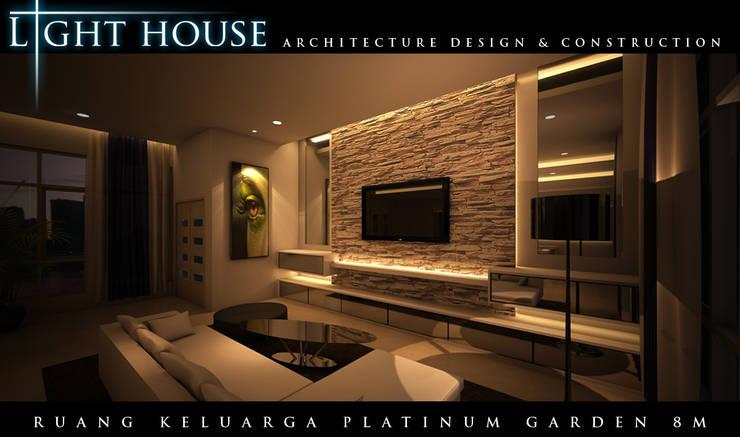 ONG, Platinum Garden. Medan City:  Ruang Keluarga by Lighthouse Architect Indonesia