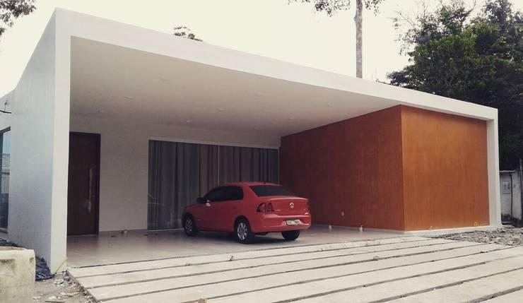 Einfamilienhaus von A Pino Arquitetos