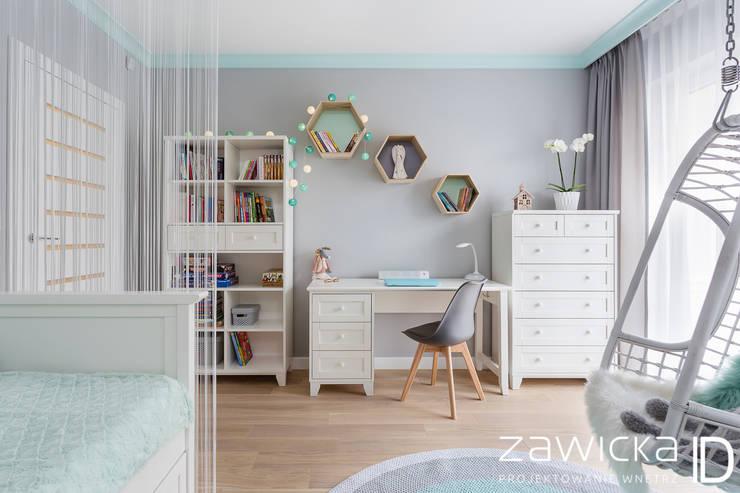 Quartos de criança modernos por ZAWICKA-ID Projektowanie wnętrz