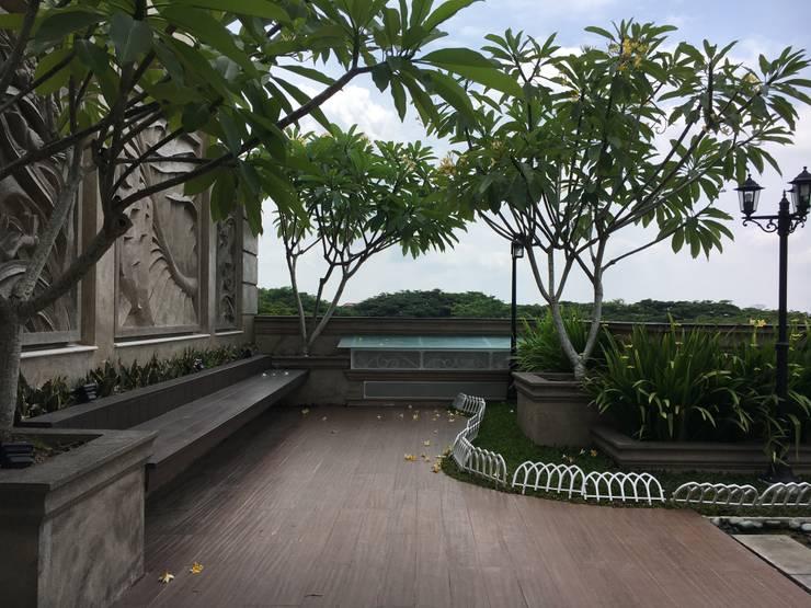 حديقة تنفيذ Lighthouse Architect Indonesia
