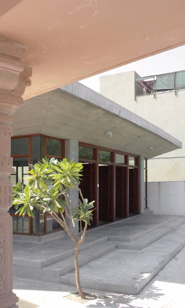 Jain Upashray Manipur:  Stairs by Input-A