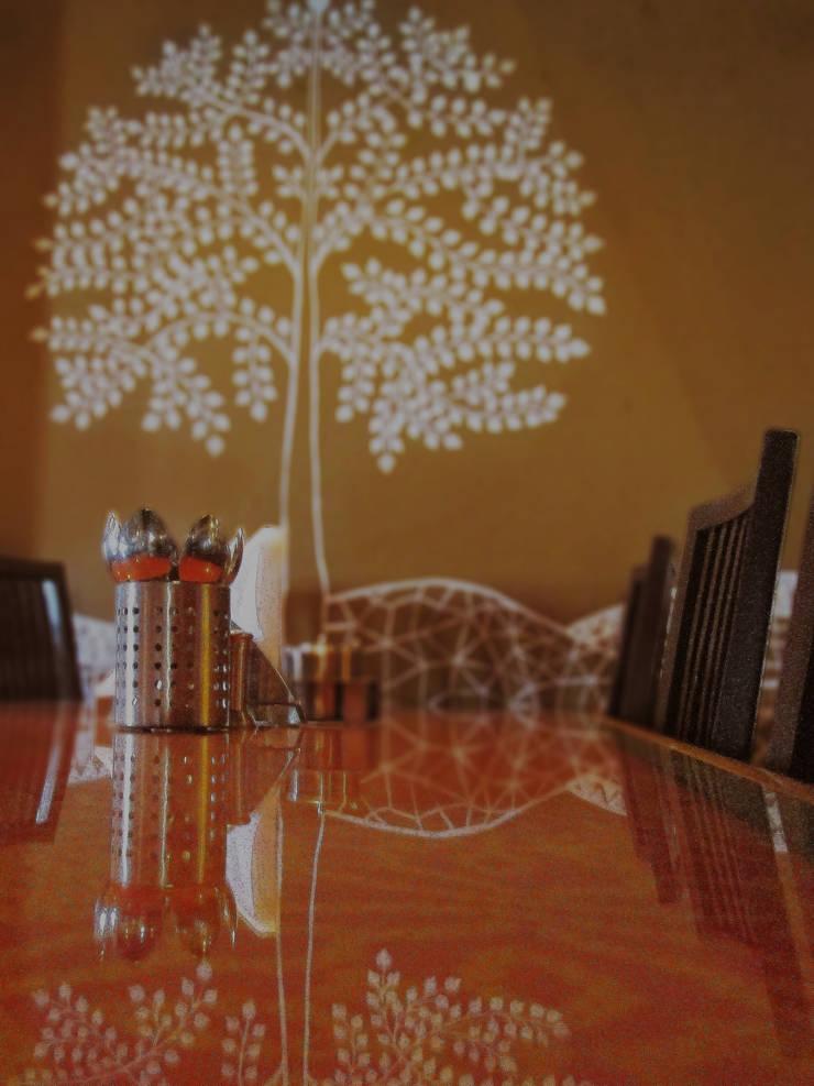 Bhagatram Village Restaurant:  Dining room by Input-A