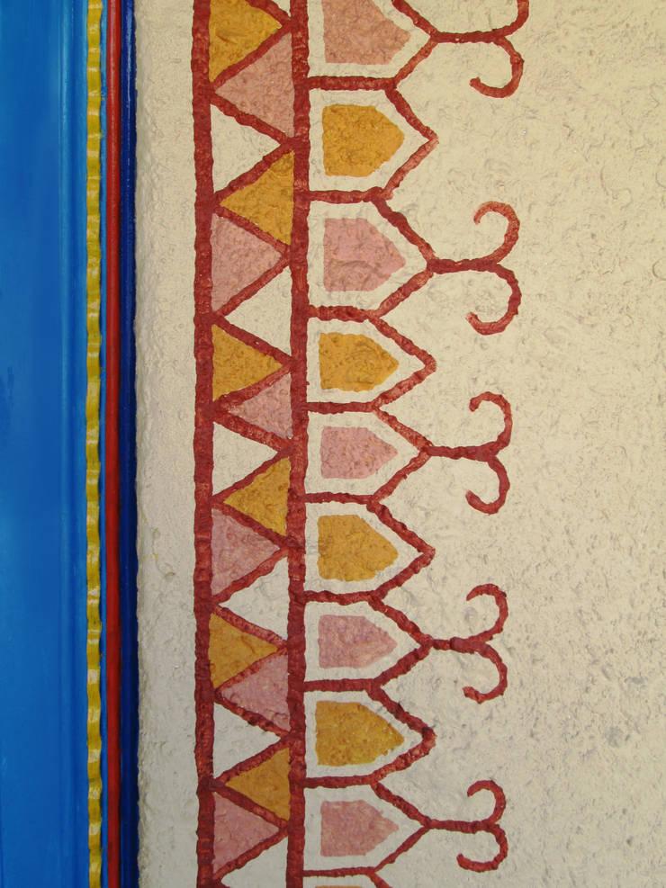 Bhagatram Village Restaurant:  Artwork by Input-A