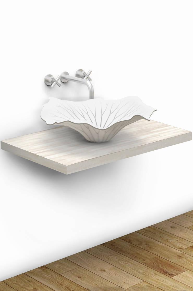 Washbasin <q>Lotus</q>: modern Bathroom by Input-A