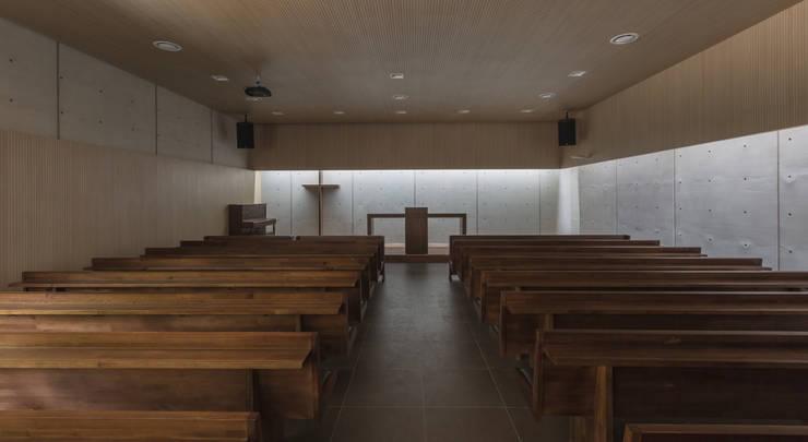 유명한 교회: 오종상 건축사의  회의실,