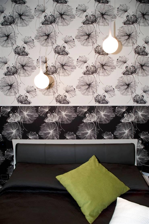 mood per il villino… : Camera da letto in stile  di Pamela Tranquilli