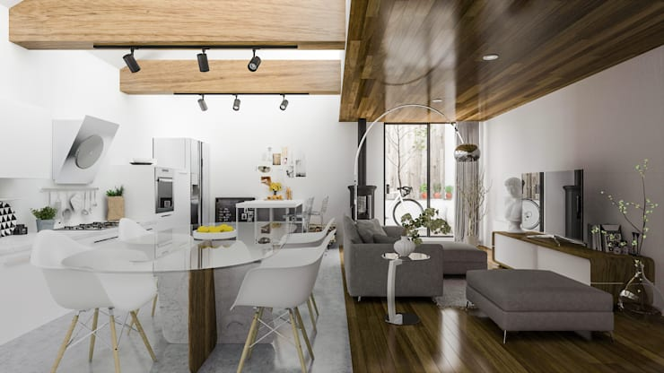 Dining room by MEXIKAN CURIOUS
