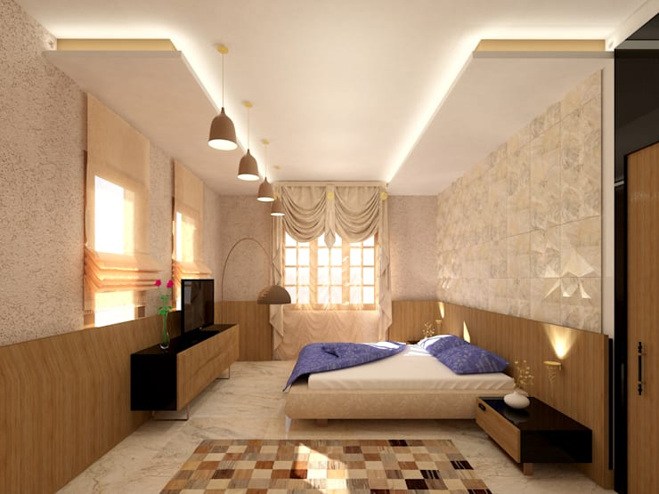 Bedroom by SPACES Architects Planners Engineers