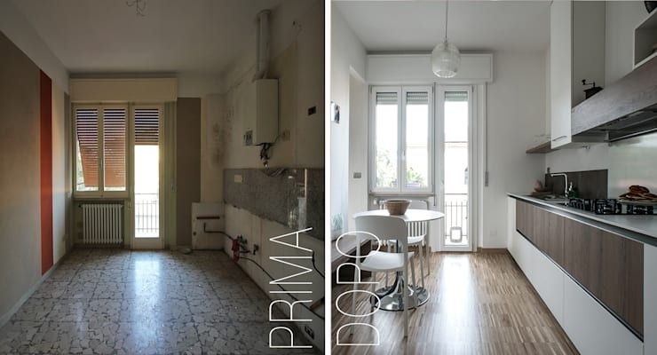 Sweet Home Forlì: Cucina in stile  di Arkinprogress