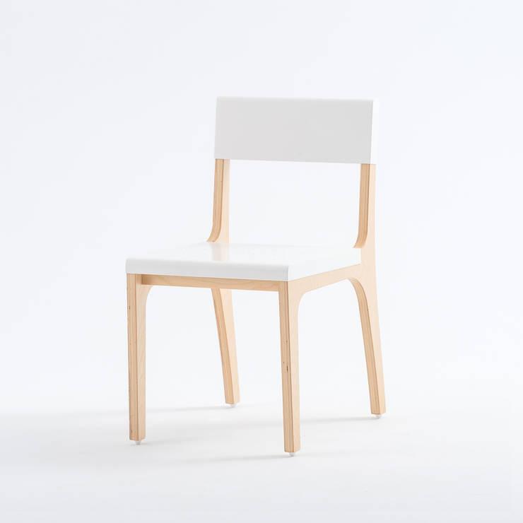 走走單人椅:  書房/辦公室 by GOOZOO DESIGN LTD.