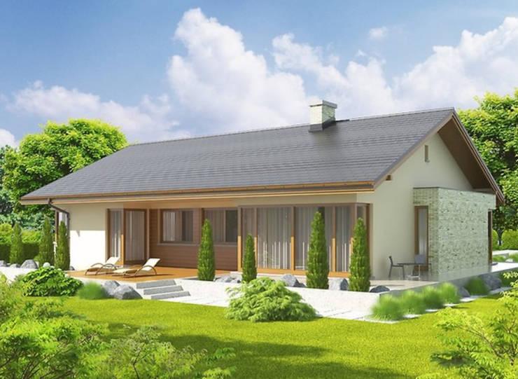 Descripción del proyecto Albert G1 de FHS Casas Prefabricadas Moderno Cobre/Bronce/Latón