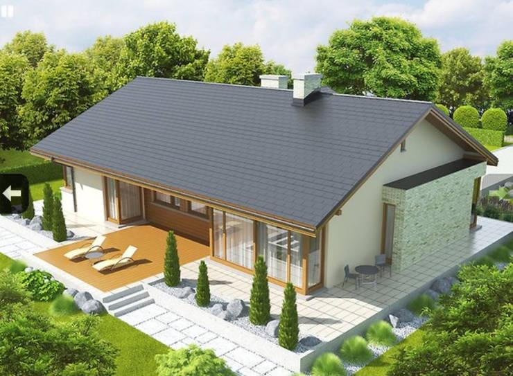 Casas prefabricadas de estilo  por FHS Casas Prefabricadas,