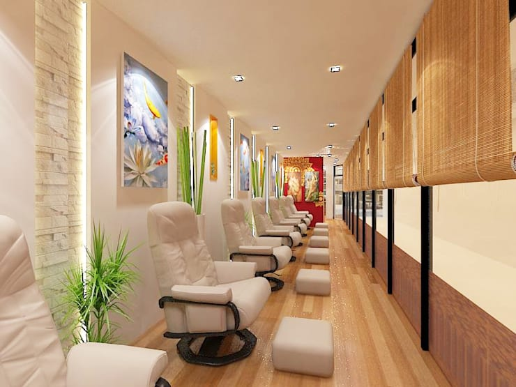 Vimana Massage and Spa:  ตกแต่งภายใน by บริษัท พระนคร เดคคอเรท จำกัด